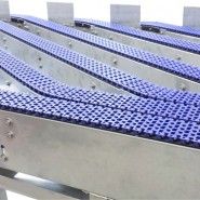 Plastic link conveyors robotic