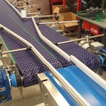 Plastic link conveyors robotic 3