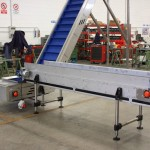Plastic link conveyors robotic 2