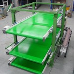 Storing conveyor system