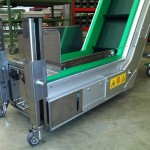 Aluminium version with cleaning drawer and magnetic chute 2