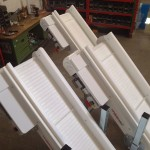 Standard conveyors preset for plastic link