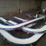 Plastic link conveyors robotic 11